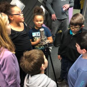 AtW Theme song recording: Workington Kids Choir