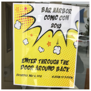 Bar Harbor ComicCon
